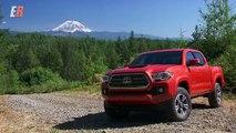 Y en coche extremo en en de apagado en la carretera prueba prueba Toyota tacoma tacoma washington