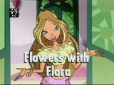 Winx Club commercial - flowers with flora