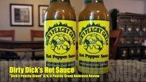 Dirty Dicks Hot Sauce Dicks Preach Green A/K/A Peachy Green Ambrosia Hot Sauce Review