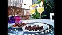 La citronnade tunisienne recette tunisienne