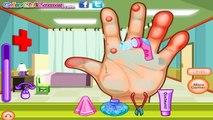 Dora Não cuida das mãos Dora Aventureira Médico mão machucada