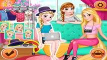 Y Ana coche Vestido juego Cambio de imagen princesa la carretera verano viaje hasta Disney elsa rapunzel f