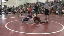 Tony's second match at Maine State Youth wrestling tournament