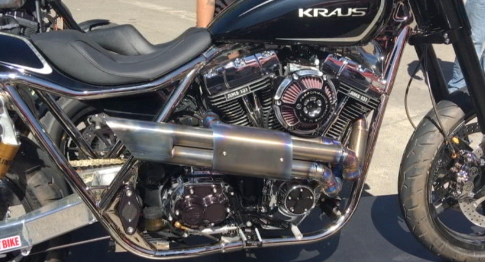 The Hot Bike / Kraus Motor Co  FXR-R Part 1