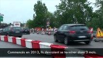 Rond-point de Droux : fin des travaux dans 3 mois
