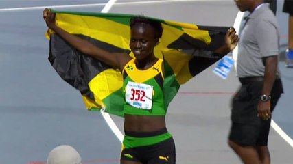 2017 CARIFTA GAMES - Girls Under-20 400m--Junelle Bromfield