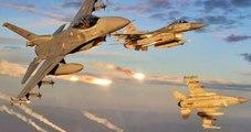 TSK: Zap Bölgesindeki Terör Örgütü Hedefleri Vuruldu