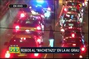 Inseguridad ciudadana: cámaras captan robos y asaltos en Lima