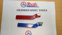 Cranked Knife Tools (BSS) for Lathe Machine Cutting Operation - JS TOOLS