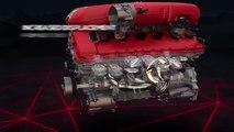 Ferrari 812 Superfast 800-hp V12 engine