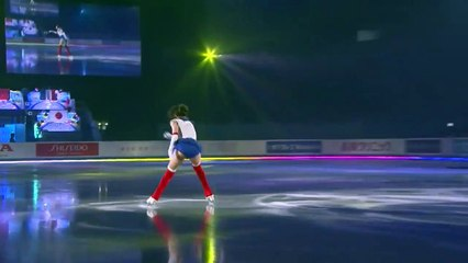Cette jeune patineuse fait sensation habillée en Sailor Moon