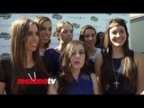 "Cimorelli INTERVIEW at T.J. Martell's 5th Annual ""Family Day LA"" Red Carpet - Singers / Sisters"