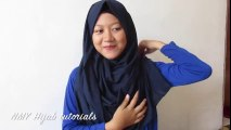 Tutorial Hijab Pashmina Segi Empat Simple Harian #NMY Hijab Tutorials