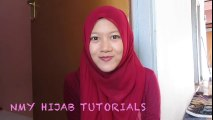 Tutorial Hijab Paris Segi Empat Casual #NMY Hijab Tutorials