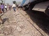 rajyarani expres train accident near rampur
