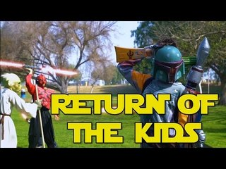 RETURN OF THE KIDS - How Kids Play Star Wars 2