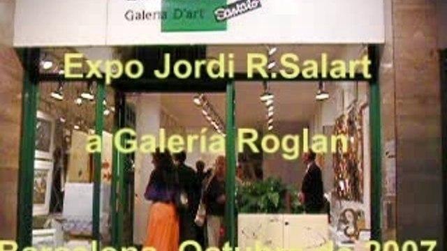 Expo Jordi R.Salart en Galería Roglan BCN