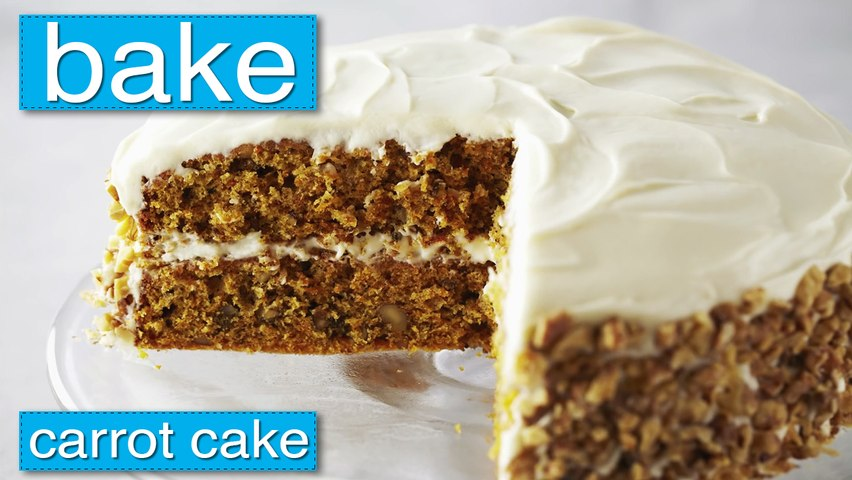 Bake - Carrot Cake with Cream Cheese Frosting