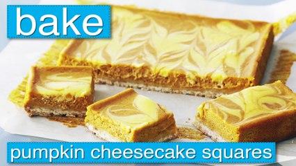 Bake - Pumpkin Cheesecake Squares