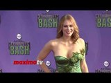 Maitland Ward - Hub Network's First Annual Halloween Bash - Purple Carpet Arrivals