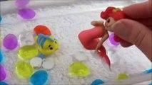 NEW Color-Change Mermaids! Magiki Mermaids Change Color! Disney Elsa Mermaid Toys Sirenette Sirenas-626