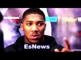 Anthony Joshua I'm Going For The KO vs Klitschko Not Into This 12 Rd Boxing Stuff - EsNews Boxing