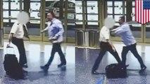 Penumpang gila menyerang pilot American Airlines - Tomonews