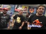 Felix Diaz vs Crawford Diaz In Camp - EsNews Boxing