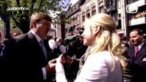 Dionne Stax De Wereld Draait Door Lucky TV Koningsdag 2015 interview Koning Willem-Alexander Koningin Máxima Dordrecht