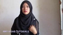 Tutorial Hijab Paris Segi Empat Simple Yang Syar'i- 2 Metode by #NMY Hijab Tutorials