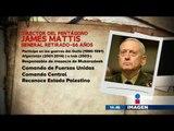 """James Mattis, el """"Mad Dog"""" dirigirá el Pentágono"""