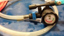 Using the AirLift cooling system refilling tool for radiator service