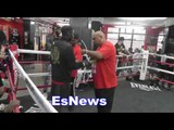 boxing star Richardson Hitchins fights on ward berto vs porter card EsNews Boxing