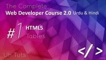 Web Developer Course 2 0 in Urdu & Hindi Tables 23