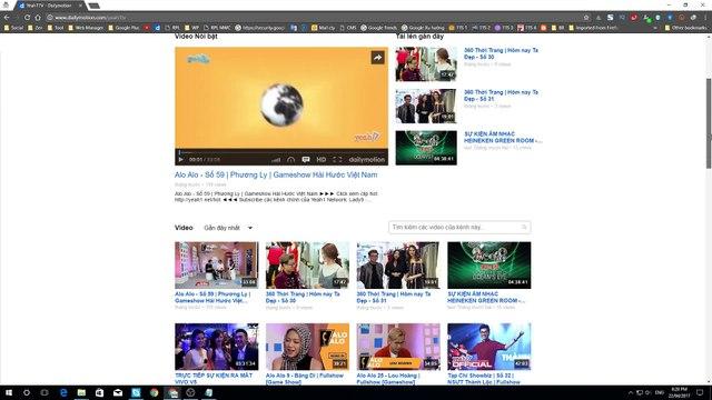 Bài 1: Hướng dẫn tối ưu hóa giao diện kênh Dailymotion