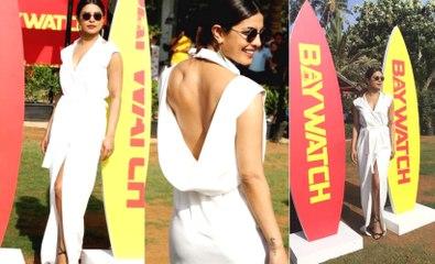 Priyanka Chopra Stunning  At BAYWATCH Trailer Launch