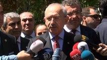Cumhuriyet Halk Partisi Genel Başkanı Kılıçdaroğlu, Teziç'in Ailesine Taziye Ziyaretinde Bulundu