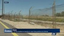 Gaza : Tsahal riposte en visant des position du Hamas