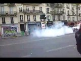 Tear Gas Fired During Left-Wing Protest Against French Second-Round Candidates
