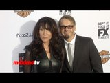 "Katey Sagal and Kurt Sutter  ""Sons of Anarchy"" Season 6 Premiere Arrivals"