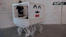 Meet Larifuga, the Prototype Robot House That Walks