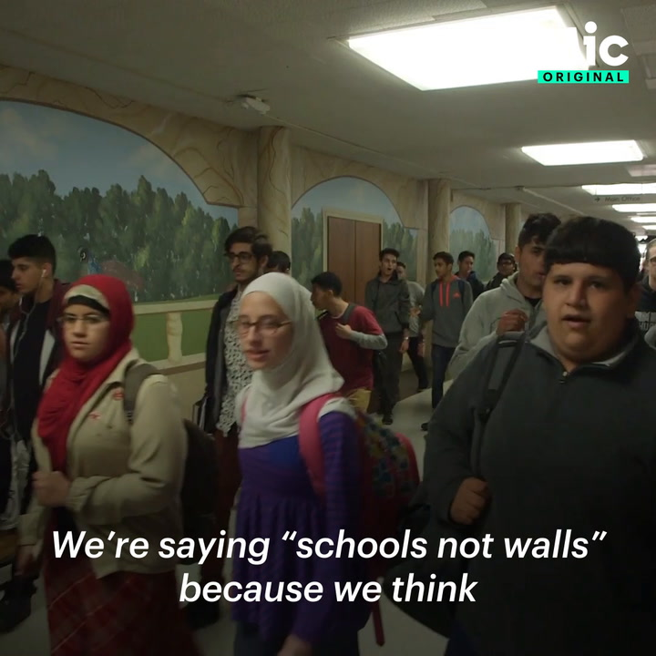 Build schools, not walls [Mic Archives]