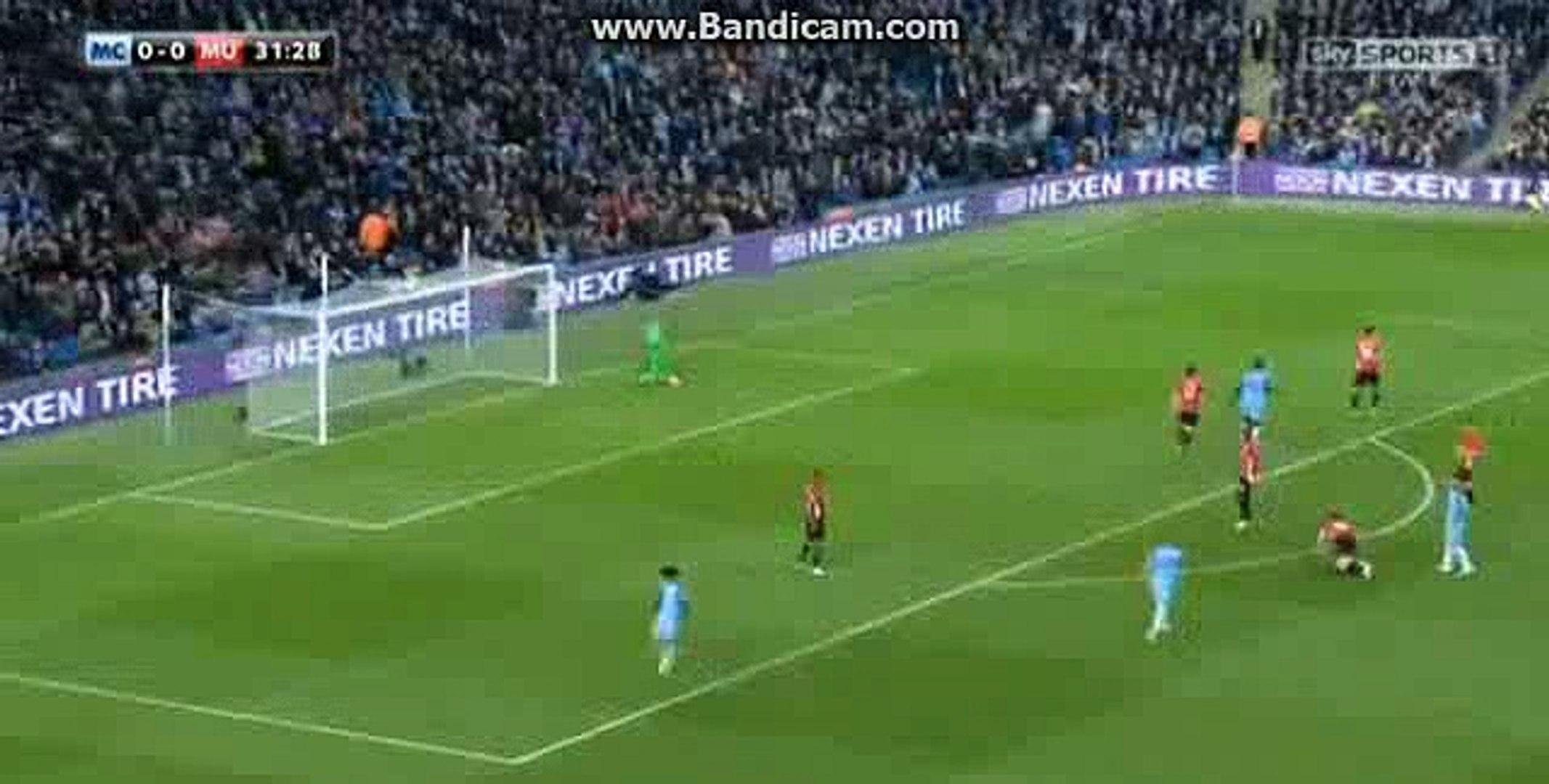 Sergio Aguero Amazing Shot HD - Manchester City Vs Manchester United - 27.04.2017 HD