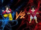 Dragon Ball Z Tenkaichi Tag Team Mods goku ssj4 vs broly ssj4