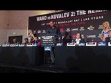 Kovalev - I Will Finish Andre Ward Boxing Career - esnews boxing