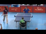 Table Tennis - FRA vs IRL - Men's Singles - Class 1 Group A - Qual. -London 2012 Paralympic Games