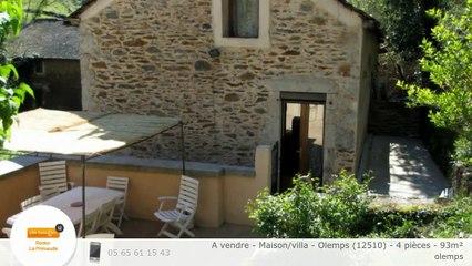 A vendre - Maison/villa - Olemps (12510) - 4 pièces - 93m²
