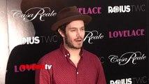 "Adam Brody ""Lovelace"" Los Angeles Premiere Red Carpet ARRIVALS"