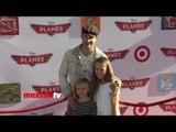 Peter Facinelli Lands at PLANES World Premiere Red Carpet Arrivals