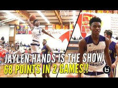 Jaylen Hands Puts Up 68 Points in 2 Games at UA Holiday Clas